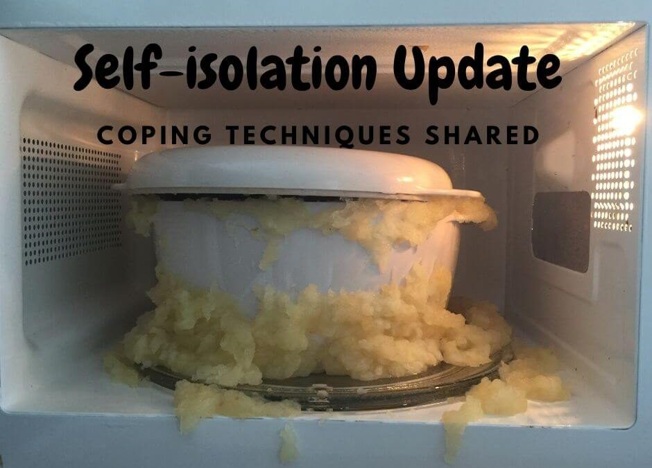 Self-Isolation Coping Techniques shared