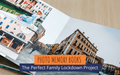 Photo Memory Book Projects for COVID-19 Lockdown